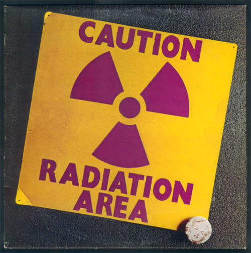 Area - Caution Radiation Area (Italy 1974)