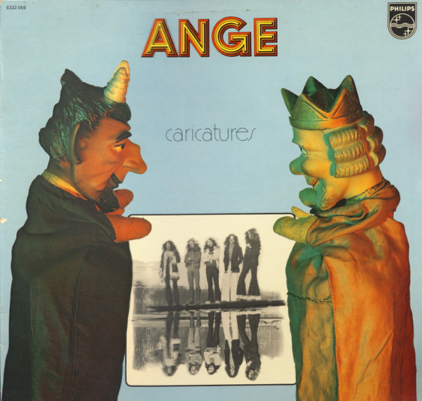 Ange - Caricatures (France 1972)