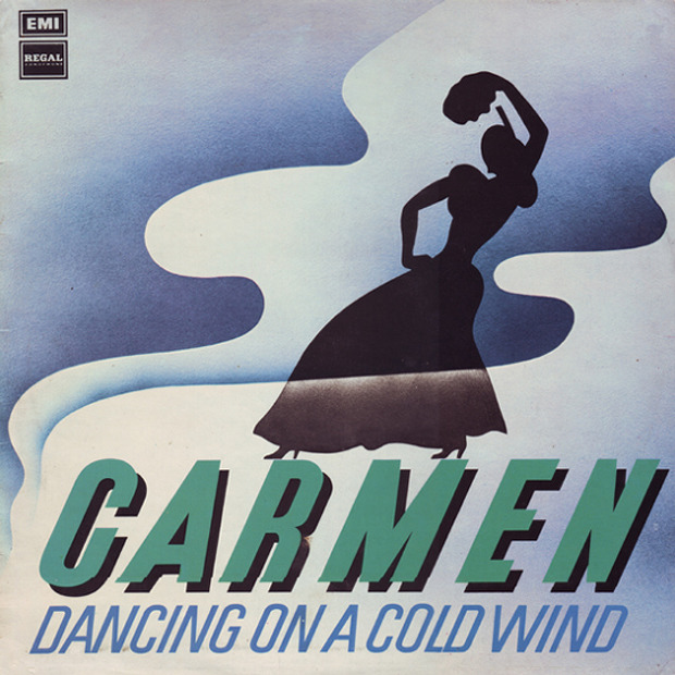 Carmen - Dancing On A Cold Wind (UK 1975)