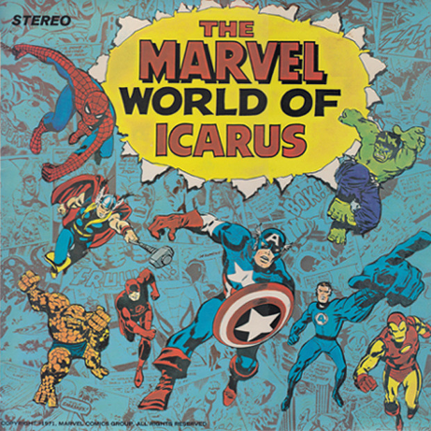 Icarus - The Marvel World Of Icarus (UK 1972)