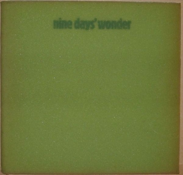 Nine Days' Wonder - Nine Days' Wonder (Germany 1971)