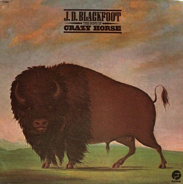 J. D. Blackfoot - The Song Of Crazy Horse (US 1974)