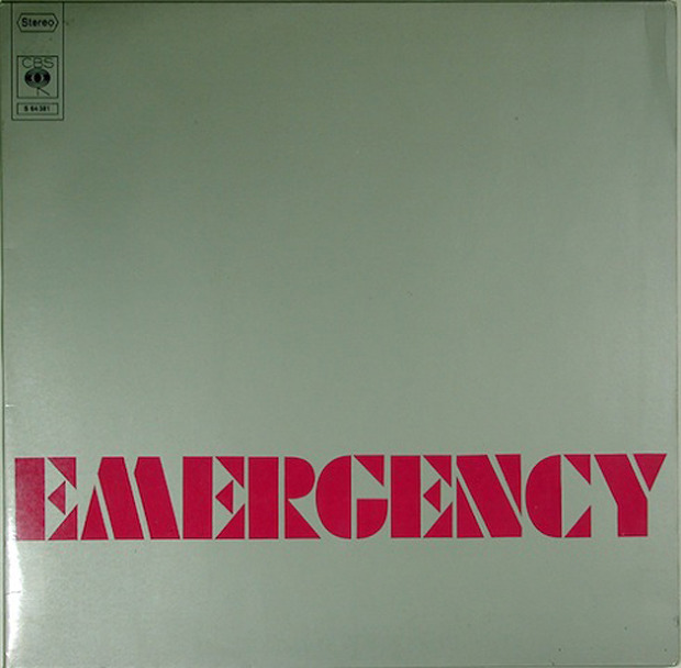 Emergency - Emergency (Germany 1971)